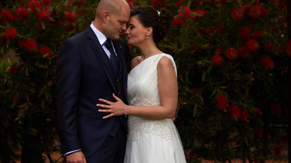 foto de boda Pablo Gallego Gardel