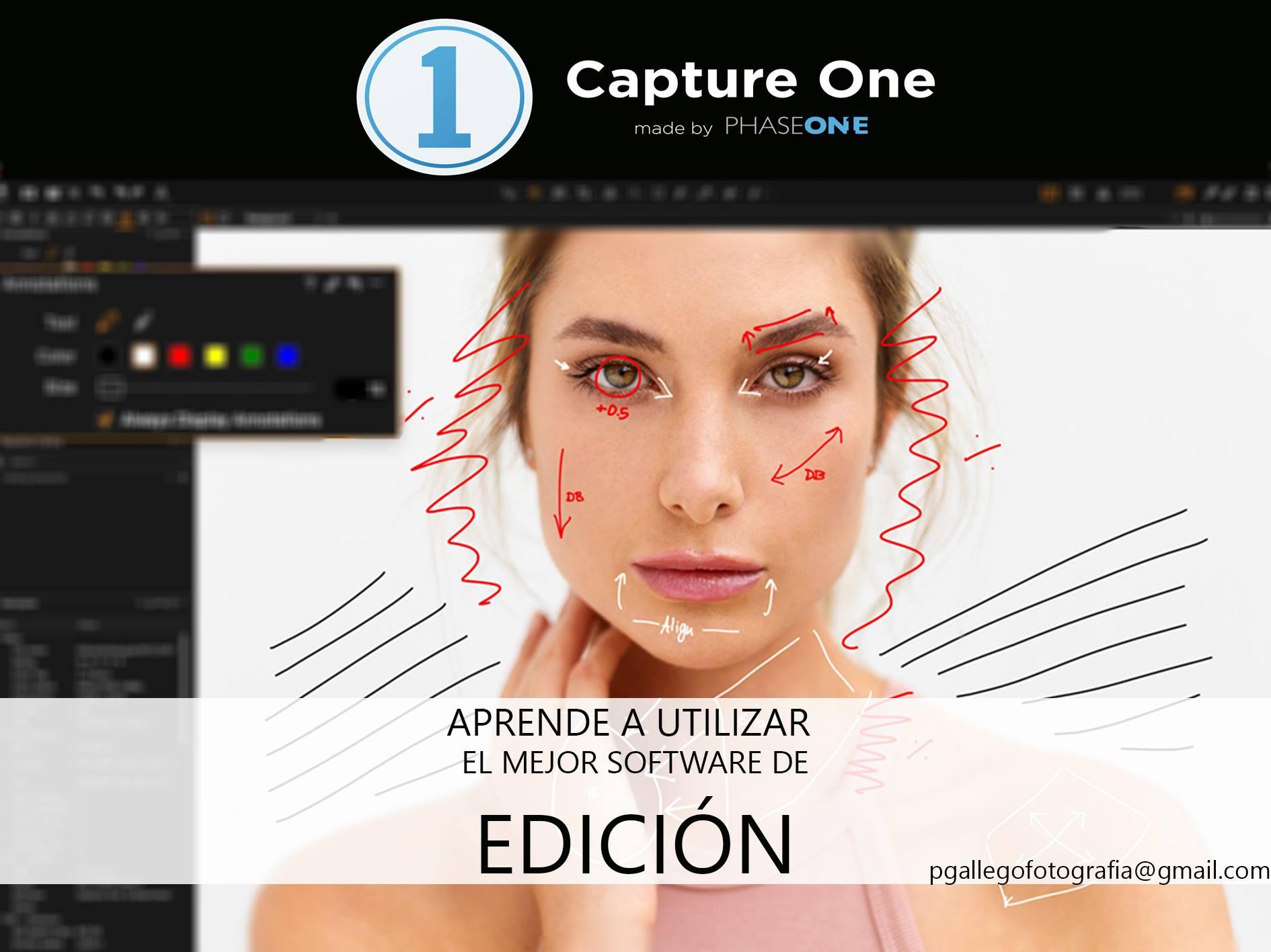 curso de capture one para fotógrafos