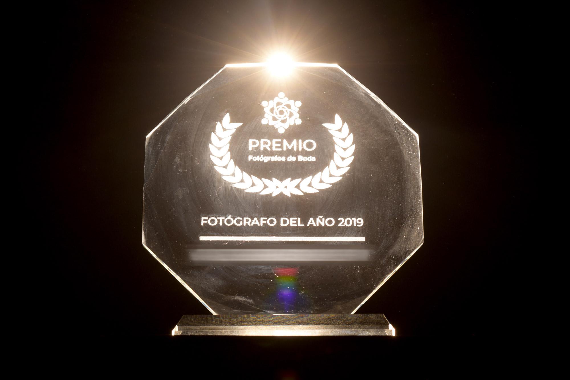 trofeo fotografos de boda 2019