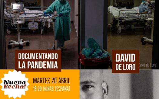 documentare la pandemia con David De Loro