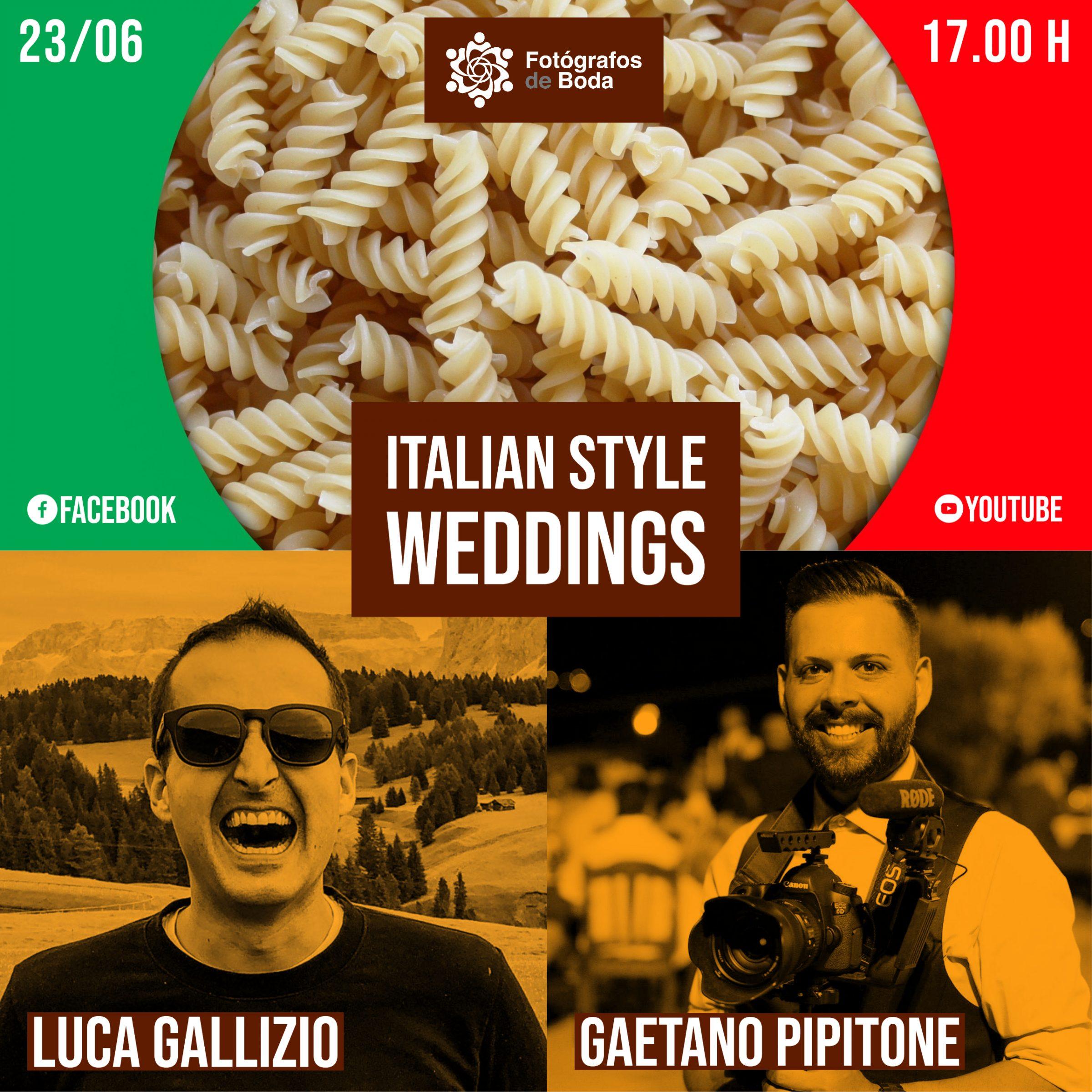 matrimonio in stile italiano